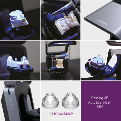 Shining 3D Auto Scan DS MIX
