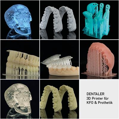 3D Printer für KFO & Prothetik