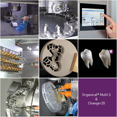 Organical Multi S & 20 Changer - collage