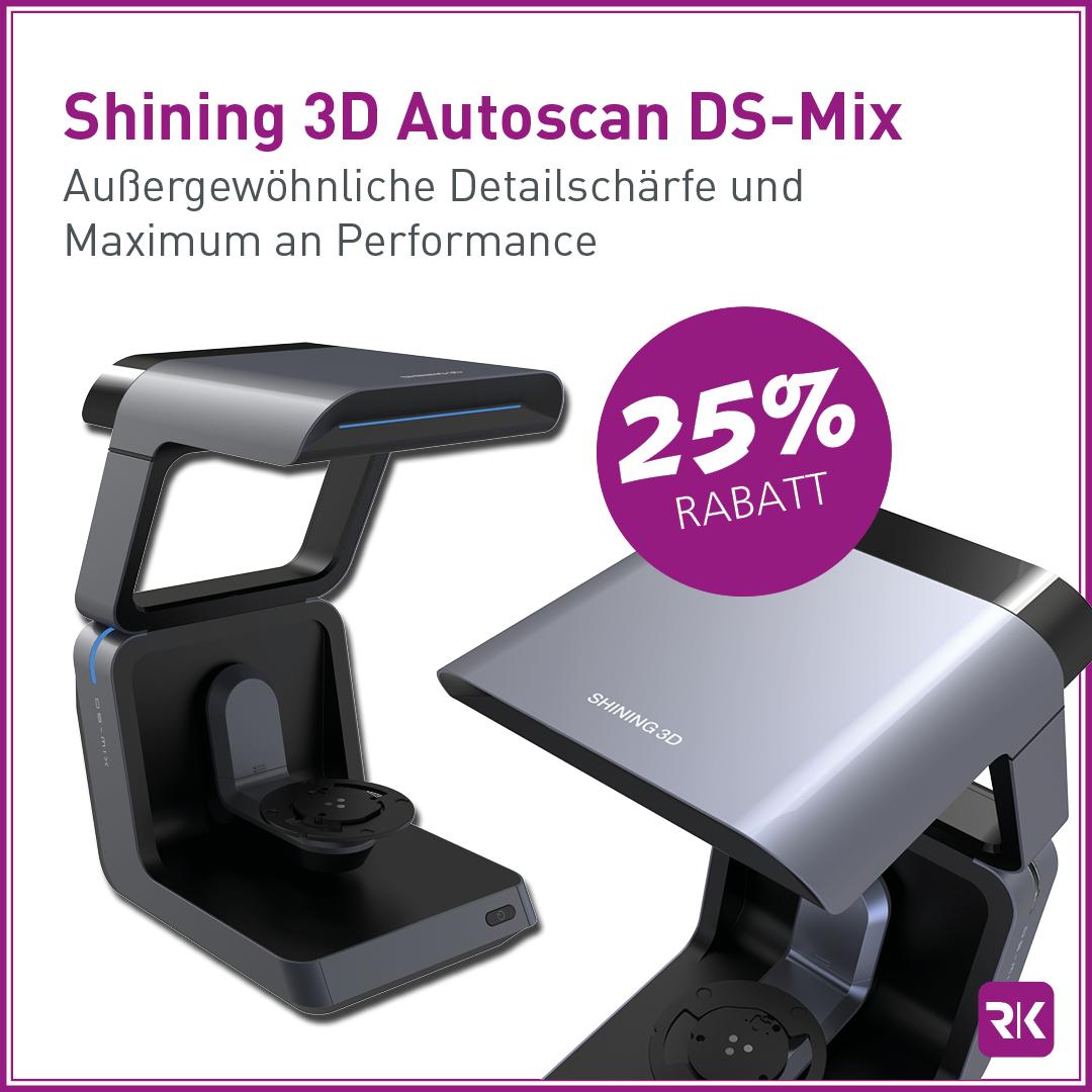 25% Rabatt Shining 3D Auto Scan DS MIX